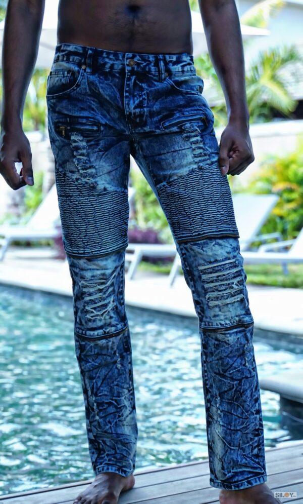 Krypthean Jeans - Frost Rebel