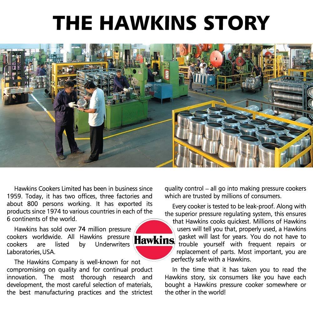 Hawkins Contura Black Pressure Cooker 5L