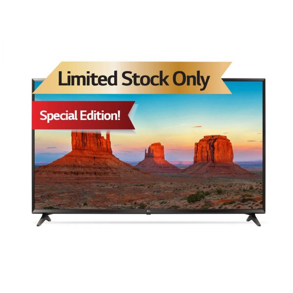 "LG LED 55"" UHD 4K TV - Limited Edition 55UK6100PVA"