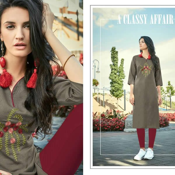 PARSHV Indian Kurti - Model Classy Affair