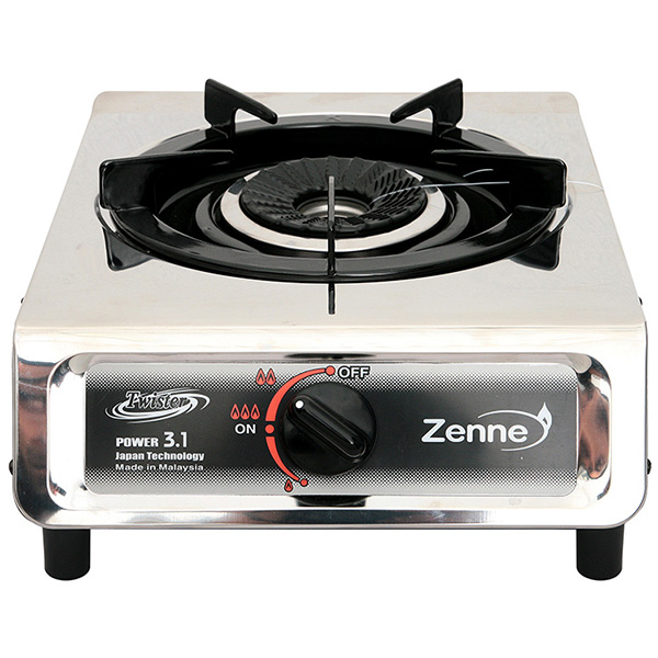 ZENNE Single Gas Stove Twister KGC11A-S