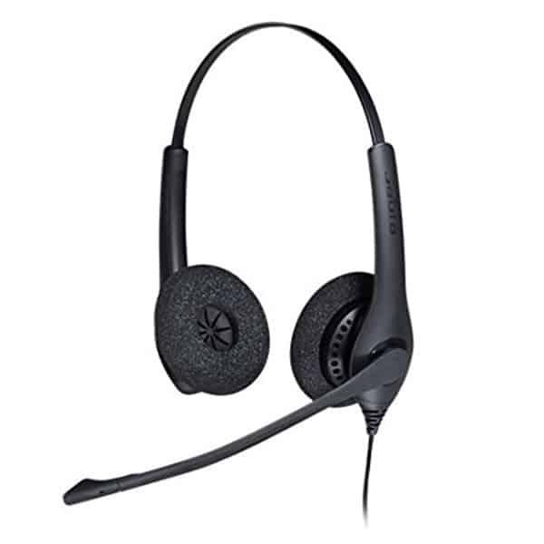 JABRA BIZ 1500 Duo Wideband Noise-Cancelling Headset