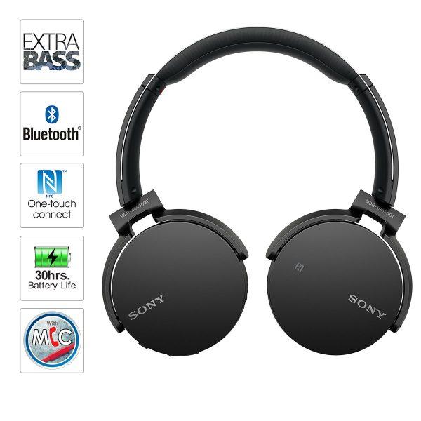 Sony Headset - Extra Bass Bluetooth Headphone - Model MDR-XB650BT