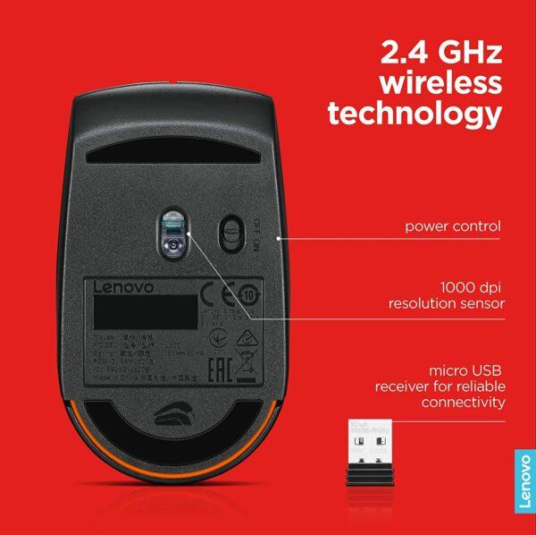 Lenovo Wireless Compact Mouse