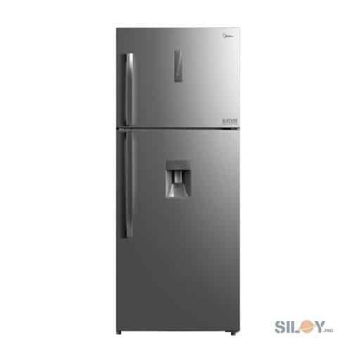 MIDEA Refrigerator 414L Double Door Water Dispenser HD554FWDW