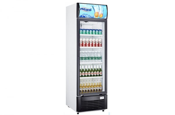 Pacific Upright Drinks Chiller 430L - LG-430F