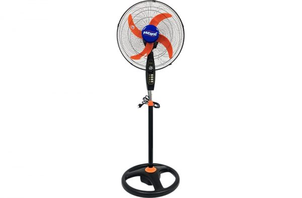 """Pacific Stand Fan 18"""" 4 Blades With Timer - S8012T"""