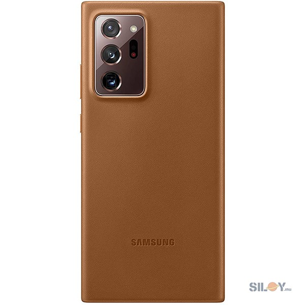 Samsung Galaxy Note 20 Back Cover Brown