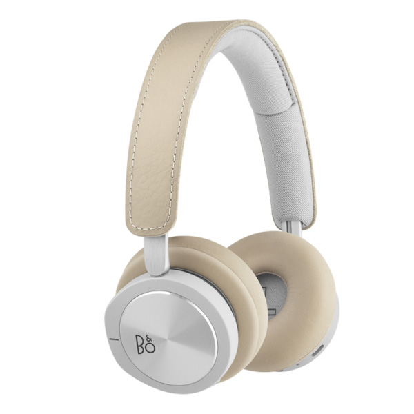 BANG & OLUFSEN Wireless Bluetooth On-Ear Headphones, Active Noise Cancellation, Microphone BEOPLAY H8i