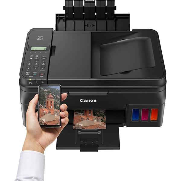 CANON Colour Inkjet Printer - Cont. Ink Supply - Print, Copy, Scan & Fax - PIXMA G4411