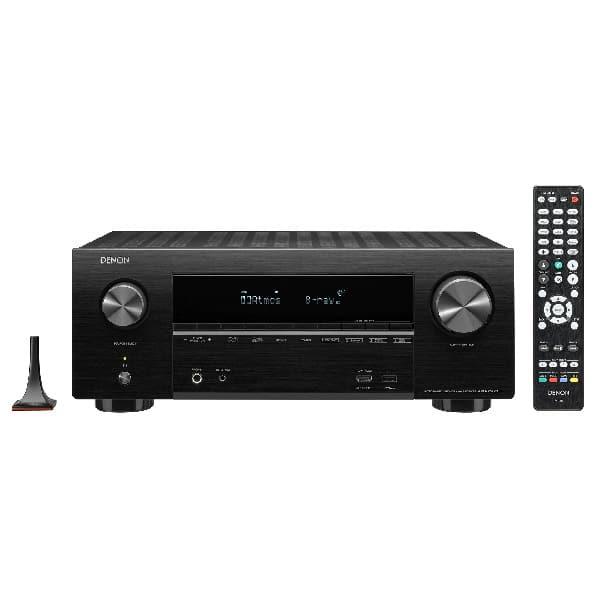 DENON 7.2ch 4K Ultra HD AV Receiver with 3D Home Audio AVR-X2600H