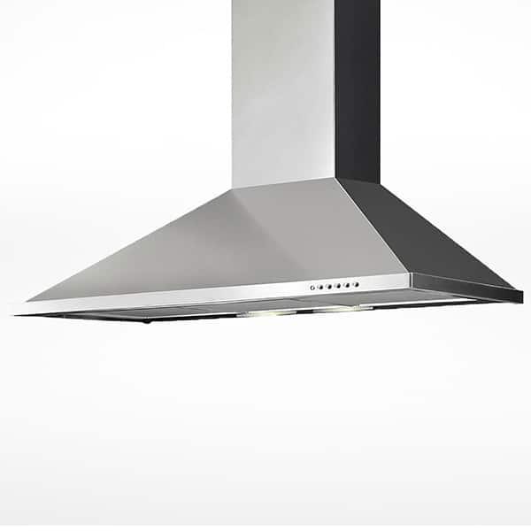 ELBA Chimney Hood 60cm 3 Speeds Stainless Steel ECH6144X