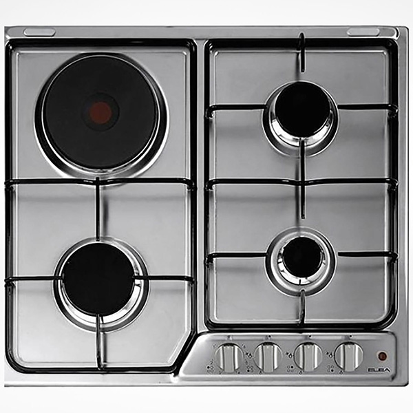 ELBA Gas Hob Stainless Steel 60cm E-Ignition EF60-311X