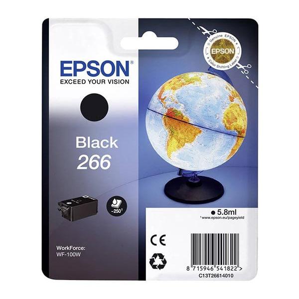 EPSON Singlepack Black 266 Ink Cartridge for WF-100W