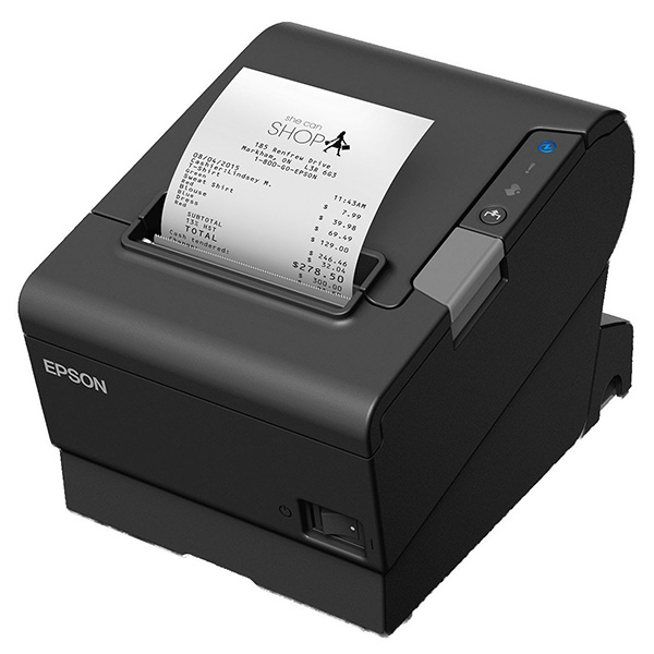 EPSON Thermal Printer TM-T88Vi (111) Future-proof Receipt Printer