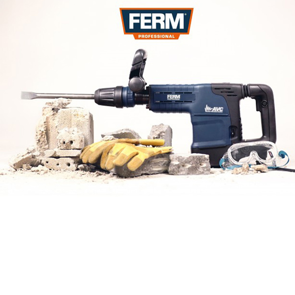 FERM Demolition Hammer 1500W – 11KG SDS-MAX HDM1041P