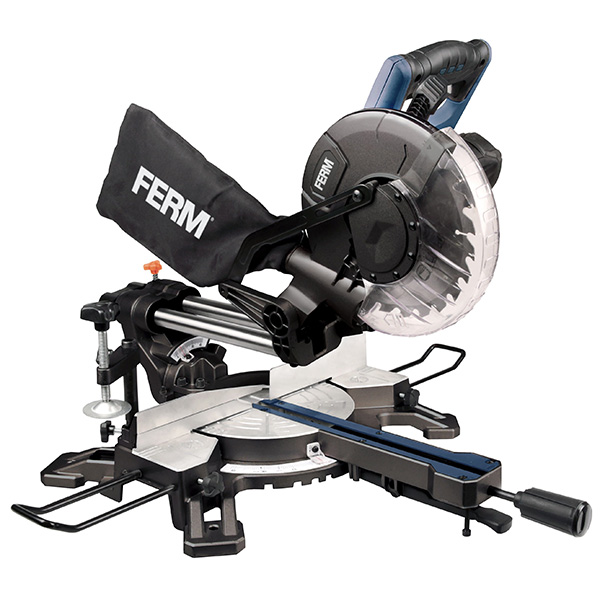 FERM Radial Mitre Saw LED Guide 1500W 210mm MSM1039