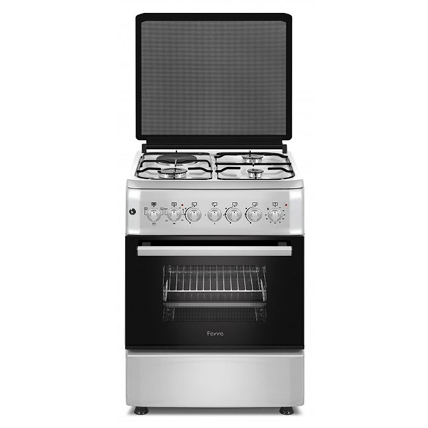 FERRE - 57*57 Gas Cooker, 3 Gas 1 Electric Top Cooker