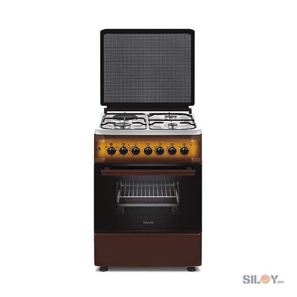 FERRE - 57*57 Smart Gas Cooker, 3 Gas, 1 Electric Top - F6S31E3-LTDF