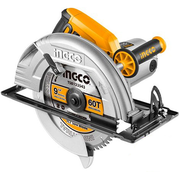 INGCO - Circular Saw 2200W, 3800 RPM + 1 60T TCT Blade