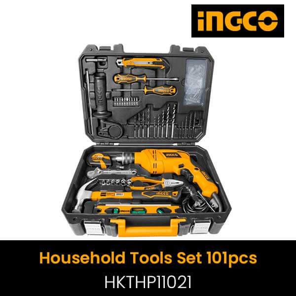INGCO - 101 Pieces Household Tools Set, Ingco Packed