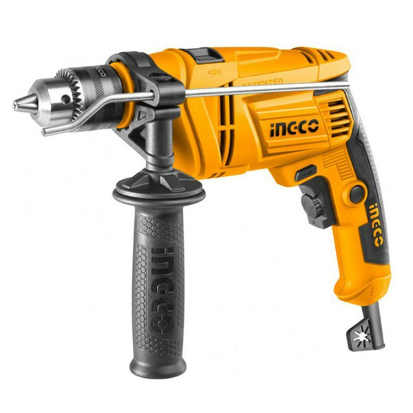 INGCO - Impact Drill, Variable Speed, Hammer Function - ID6538