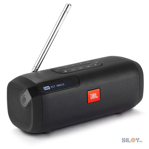 JBL Bluetooth Tuner Clock - Black