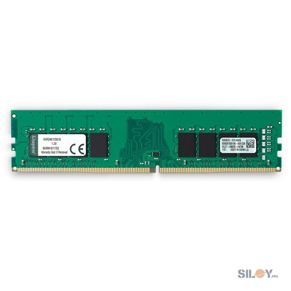 KINGSTON PC RAM Memory 16 GB 2400Mhz DDR4