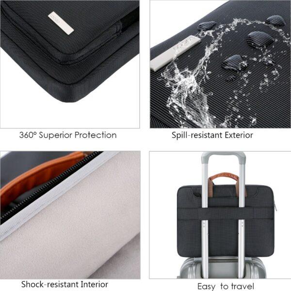 Lacdo Shoulder Laptop Bag (15.6 Inch)