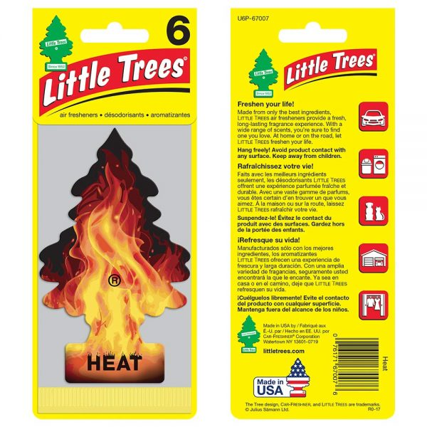 Little Trees - Heat (Pack of 6)