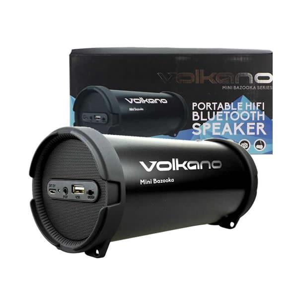 VOLKANO Bluetooth Speaker - Mini Bazooka with FM Radio