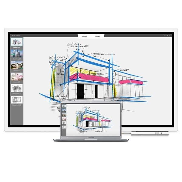 """SAMSUNG Monitor 55"""" UHD Interactive Display"""