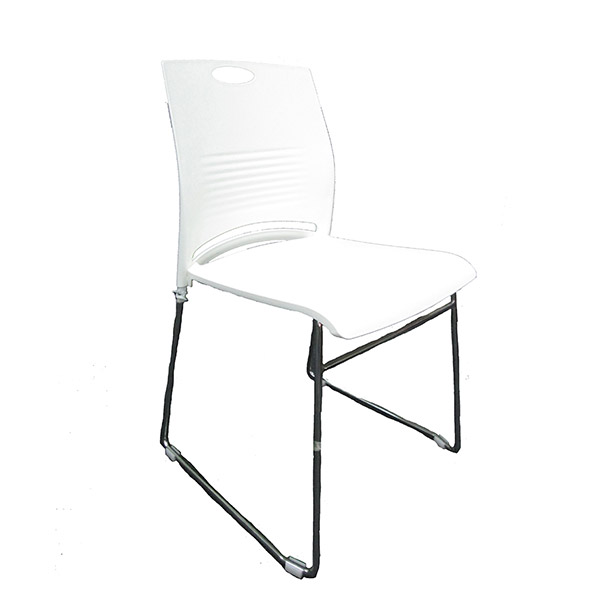 SILOY Furniture - Office Comfort White Visitor Chair - ST7001A