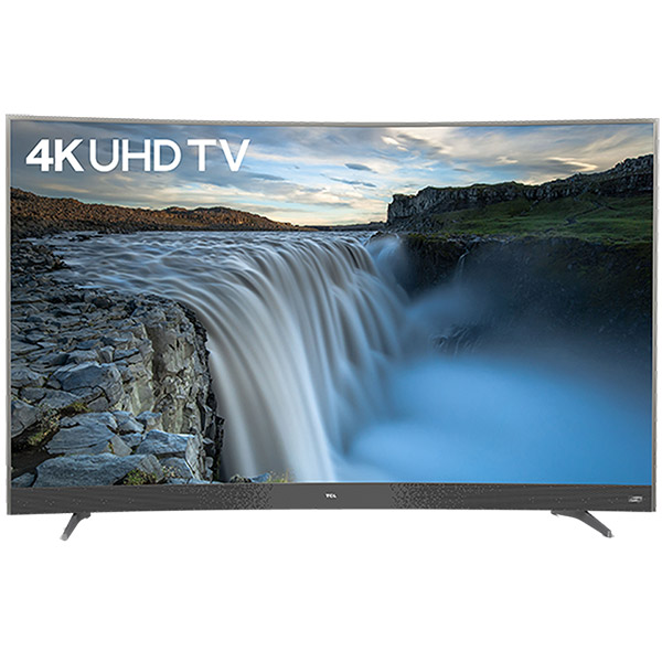 """TCL 55"""" 4K UHD Smart Curved TV - 55P3CUS"""