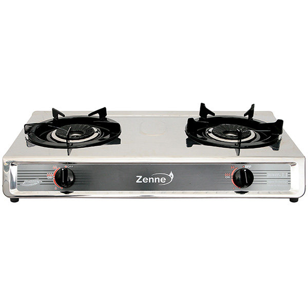 ZENNE Double Gas Stove Twister KGS201-S
