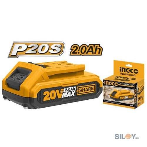 INGCO Lithium-ion 20V 2.0Ah Battery FBLI20011