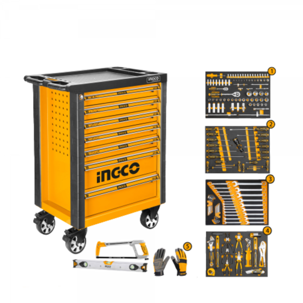 INGCO 162 Pcs Tool Chest Set HTCS271621