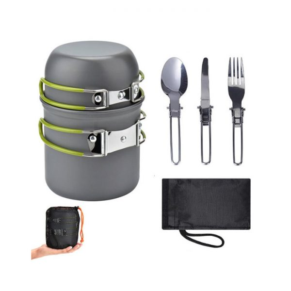 5-in-1 Camping Cooker Set
