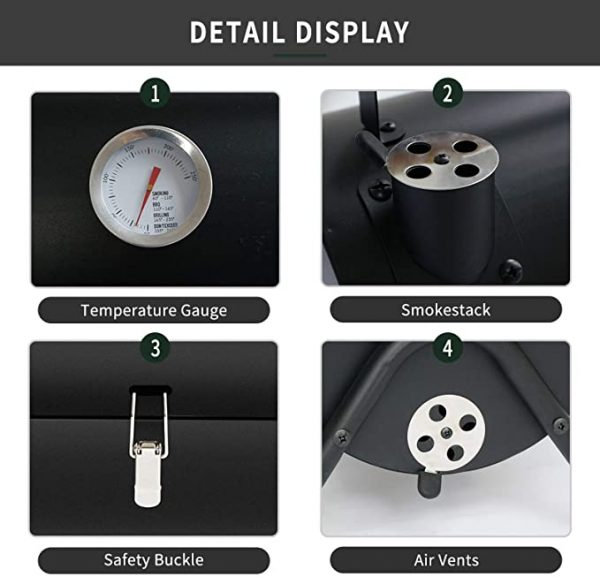 Portable Charcoal Grill Coal 2