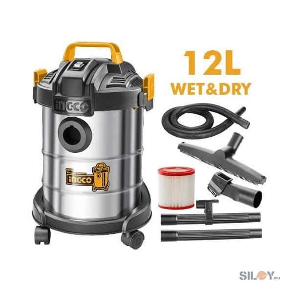 INGCO 12L Wet & Dry Vacuum Cleaner VC14122